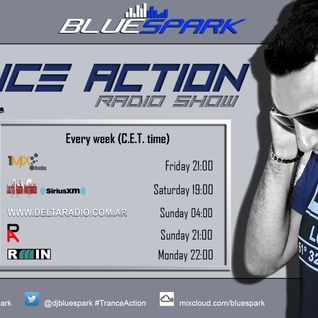 Dj Bluespark - Trance Action #347