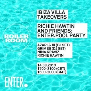 AZARI & III @ ENTER.Villa Pool Party Ibiza 14-08-2013