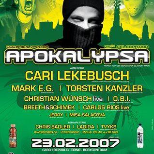 Christian Wünsch - Live @ Apokalypsa, Czech Republic (23-02-2007)