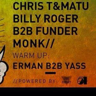 Billy Roger B2b Funder @ Minimal Club - 15.02.2014