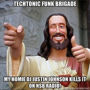DJ Justin Johnson - Techtonic Funk Brigade - Oct. 19, 2012 - Live on www.nsbradio.co.uk