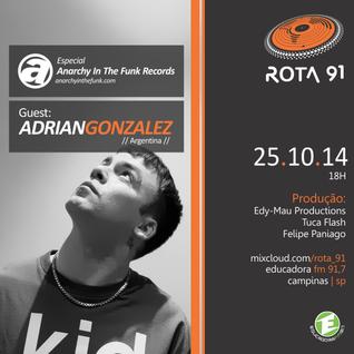Rota 91 - 25/10/14 - Educadora FM