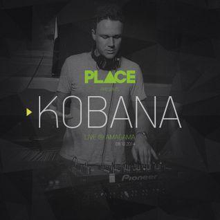 PLACE pres. Kobana - Live @ Amagama (8.11.2014)