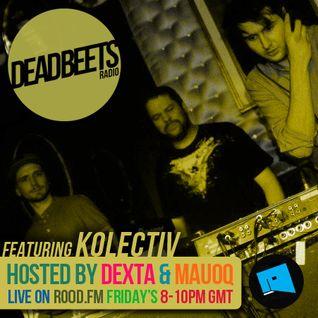 DeadBeets Radio 020 - 23/08/13 - Special Guests Kalm & Carera (KOLECTIV)