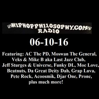 HipHopPhilosophy.com Radio - LIVE - 06-20-16 FINAL