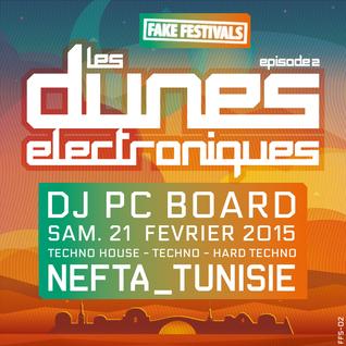 DJ PC Board - Les Dunes Electroniques 2015 (FFS-02)