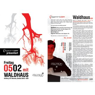 Blurix - Live @ Diggarama pres. Waldhaus (Aquarius, Zagreb - 05.02.2010)