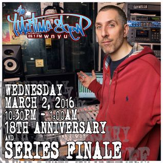 The Halftime Show 18th Anniversary And Series Finale 89.1 WNYU March 2, 2016