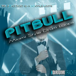 PitBull Miami Style Drum Loops and Samples (Commercial)