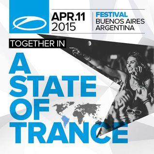 Ruben De Ronde - Live @ ASOT 700 Festival, Buenos Aires - 11.04.2015