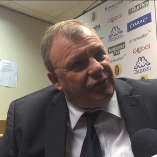 "Steve Evans: ""a lot of glee & pride"" after FA Cup win #LUFC"