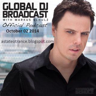 Markus Schulz - Global DJ Broadcast World Tour October 02 2014, GDJB (02.10.2014) [Free Download]