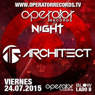 Architect @ Operator Night 24.07.15