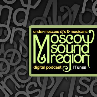 Moscow Sound Region podcast #44. Beautifully sounded techno