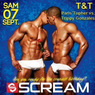 T&T (Paris'Topher vs Trippy Gonzales) Live @ Scream Birthday 07-09-13
