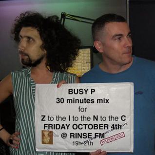 BUSY P Minimix for DJ ZINC @ RINSE FM - (04.10.2013)