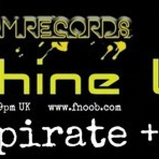 Wired Room Records Machnie Life podcast with audiopirate for Fnoob Techno Radio