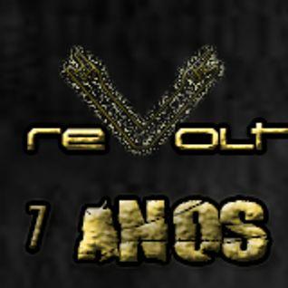 mixtape dos 7 Anos de REVOLT, que ocorrem dia 13 de julho na Casa da Matriz, no dia mundial do ROCK!
