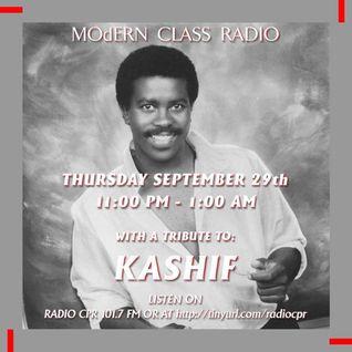 Kashif tribute on MOdERN CLASS radio on 101.7 FM Radio CPR