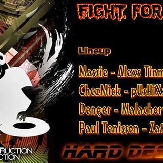 Malachor V - Fight for hardtechno & Hard destruction 2014.07.02.