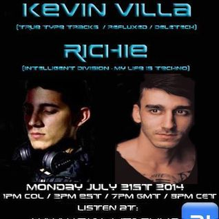 The future underground show - Kevin Villa ( 21/07/2014)