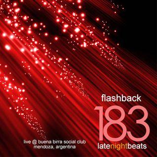 Late Night Beats by Tony Rivera - Episode 183: Flashback (Live @ Buena Birra Club Social, MDZ, ARG)