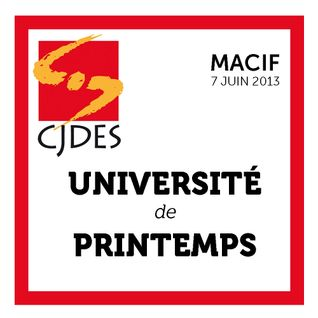 Introduction de l'Université de Printemps