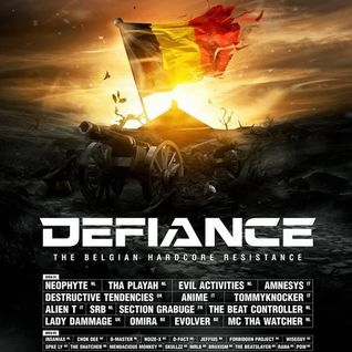 D-FACT vs FORBIDDEN PROJECT @ DEFIANCE || COMPLEX SINT-NIKLAAS || 16 - 05 - 2015