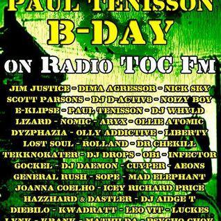 Leo-Vit @ Paul Tenisson B-Day Party on TOC Fm - Moscow/Russia (hardtechno-schranz) 19/09/2013