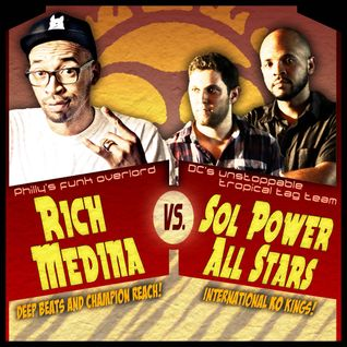 Rich Medina and Sol Power All-Stars Live Tag Team Set