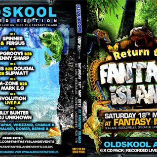 fantasy island 18.5.13 uprising v pleasuredome arena  dj spinner