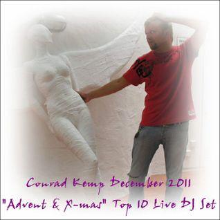 Conrad Kemp December 2011 Advent & X-Mas Top 10 Live DJ Set for www.szokujacy.pl