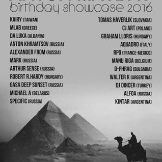 CJ Art - Anton Mayday's Birthday Showcase 2016 [26.05.2016] on Midnight Express FM