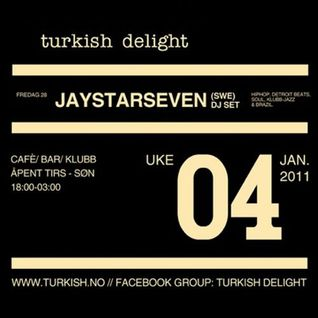 1st hour DJ-Set (warm-up), Turkish Delight, Oslo
