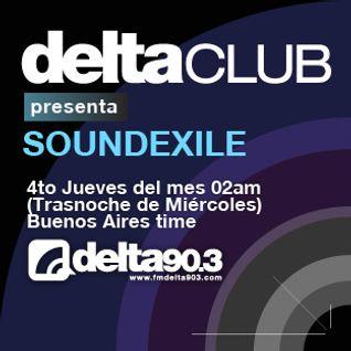Delta Club presenta Soundexile (23/2/2012)
