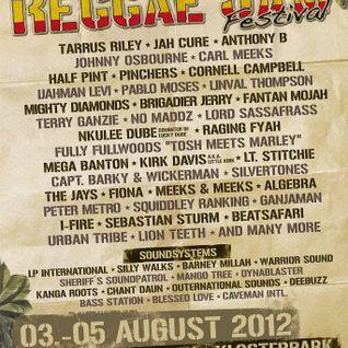 Mangotree @ Reggaejam Festival 2012 - pt 2