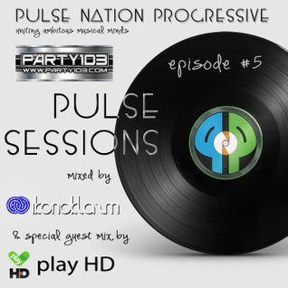 Pulse Sessions 005 w/ ikonoklazm & guest dj play HD
