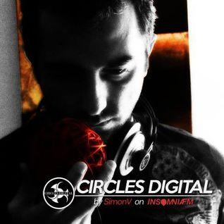 Circles Digital radio show @ Insomnia Fm 02# | mix by SimonV
