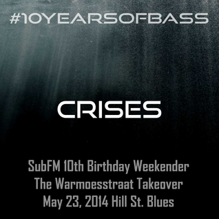 Crises live at #10YearsOfBass - Hill Street Blues, Amsterdam - 23rd May 2014
