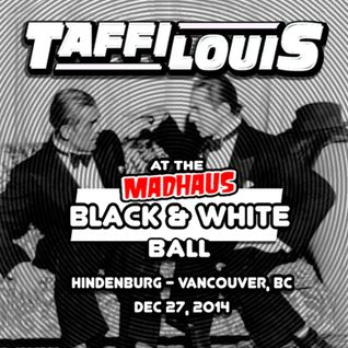 at the MADHAUS Black & White Ball (Dec 27, 2014)