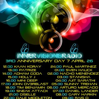 Adham Goda -  Innervisions Radio 3rd Anniversary Day 7 [ April 2013 ]