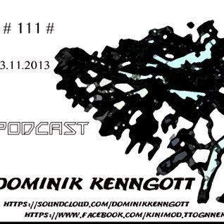Podcast # 111 #     23.11.2013   Dominik Kenngott
