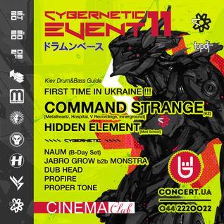 Profire @ Cybernetic Event 11