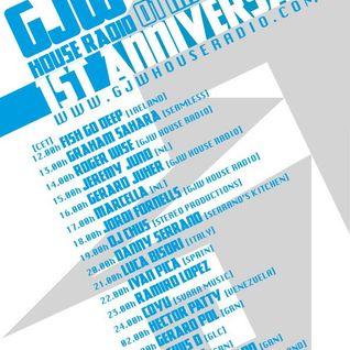 GJW House Radio 1st Anniversary (Jeremy Juno 1 hour guest mix)