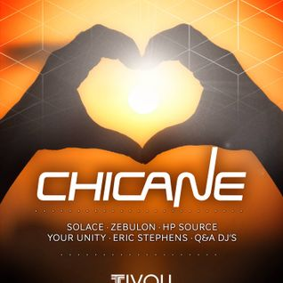 Chicane (UK) Adelaide Show 2016 - Mixed By Eric Stephens - Warm Up Main Room