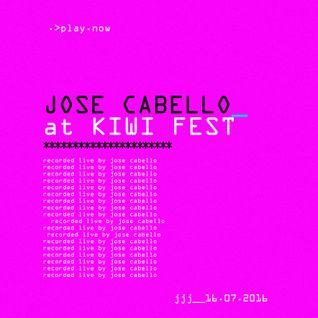 Jose Cabello (Live) @ Kiwi Festival (Maracay) 16072016.