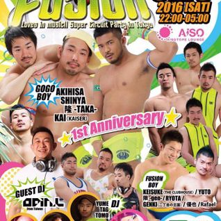 FUSION -1st Anniversary-  May 2015 reconstruction ::YUME