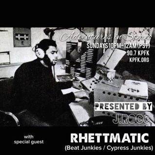 Adventures In Stereo (5-10-2015) MUSIC FROM THUNDERCAT, SEVEN DAVIS JR, DAM FUNK + SET BY RHETTMATIC