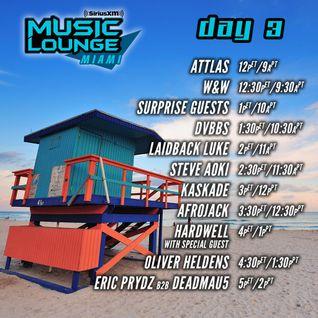 Deadmau5 b2b Eric Prydz - Live @ SXM Music Lounge, MMW 2016 (Miami) - 18.03.2016