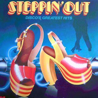 GREG WILSON PRESENTS THE ORIGINAL BRITISH MIXES - 'STEPPIN' OUT' (POLYDOR RECORDS) 1978